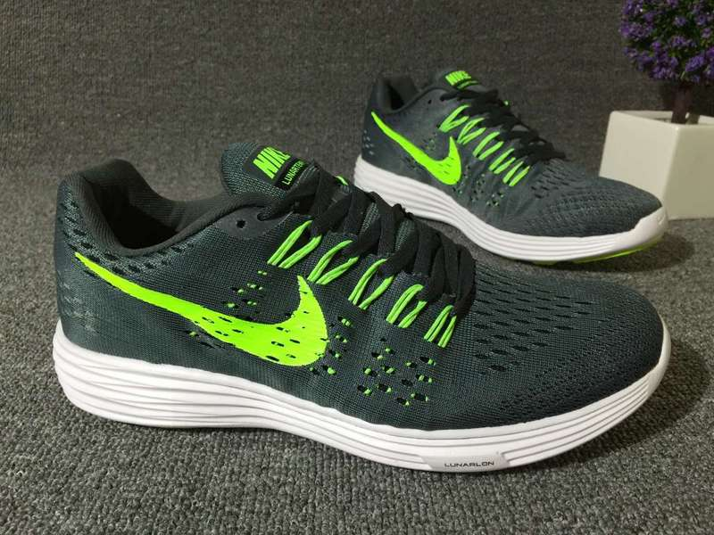 Nike Lunartempo 21 Green Fluorscent White Shoes