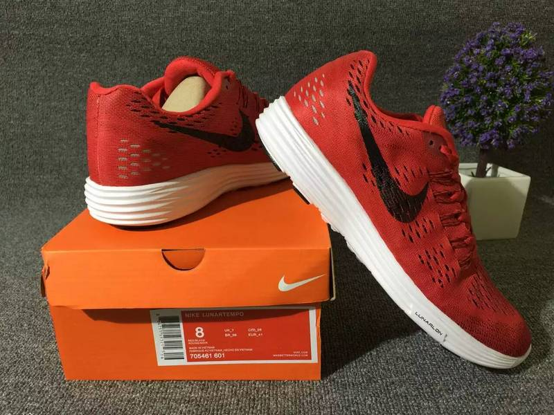 Nike Lunartempo 21 Red Black Shoes