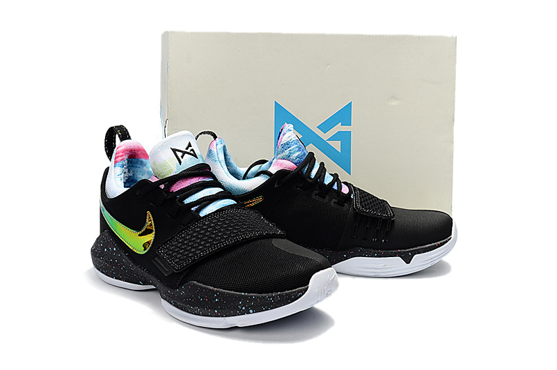 Nike PG 1 Black Colorful Basketball Shoes For Women
