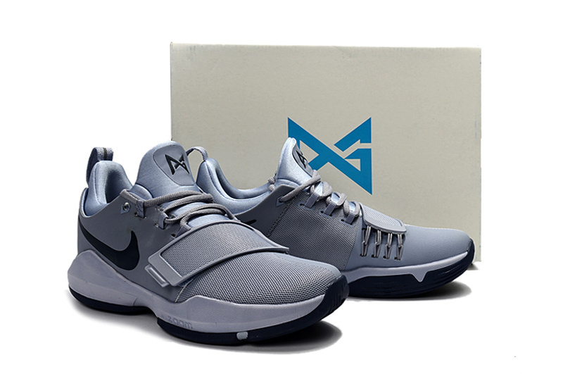 Nike PG 1 Grey Black Basketball Shoes For Women