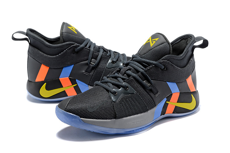 Nike Paul George 2 Black Carbon Grey Shoes