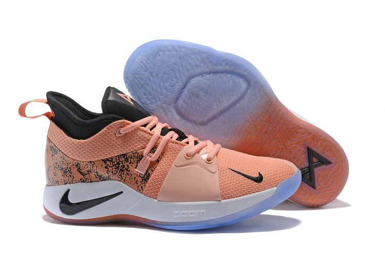 Nike Paul George 2 Black Pink Shoes