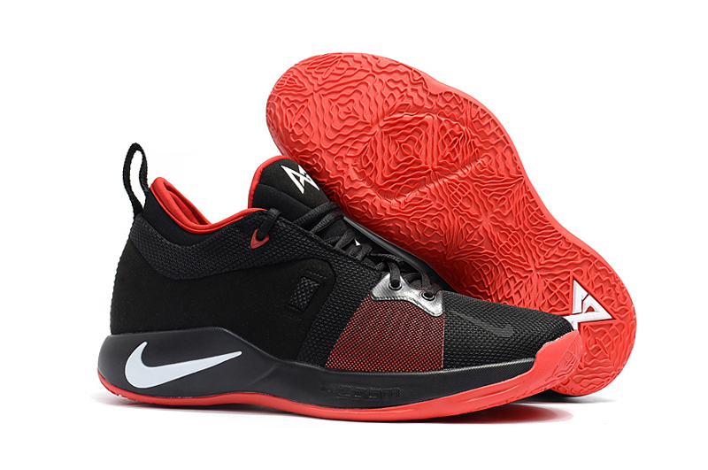 Nike Paul George 2 Black Red Shoes