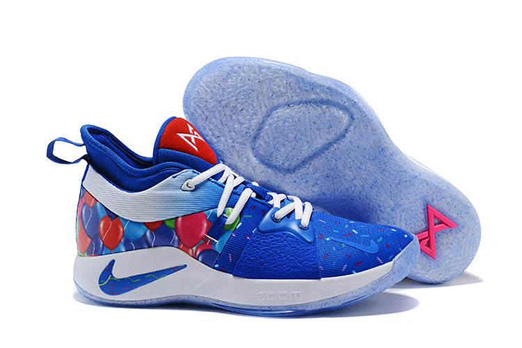 Nike Paul George 2 Blue Birthday Shoes