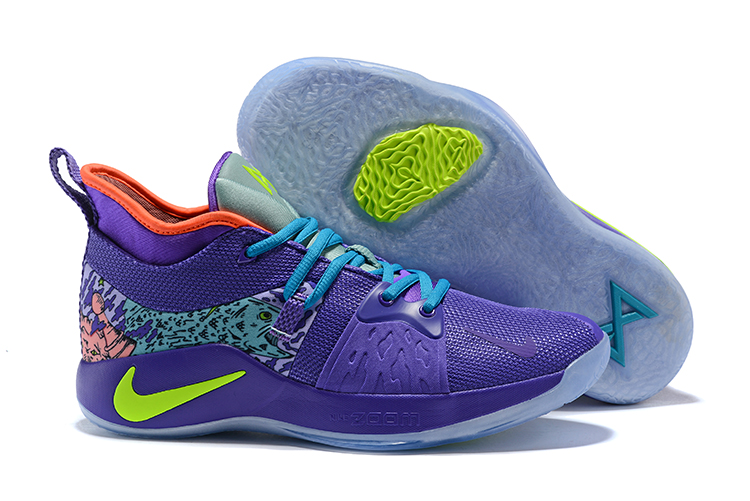 Nike Paul George 2 Mamba Spirit Light Purple Shoes