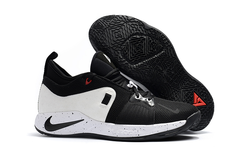 Nike Paul George 2 White Black Shoes