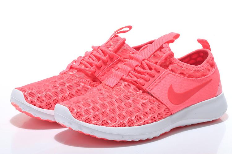 Nike Roshe Run 4 Volcanic Red White Shoes For Women