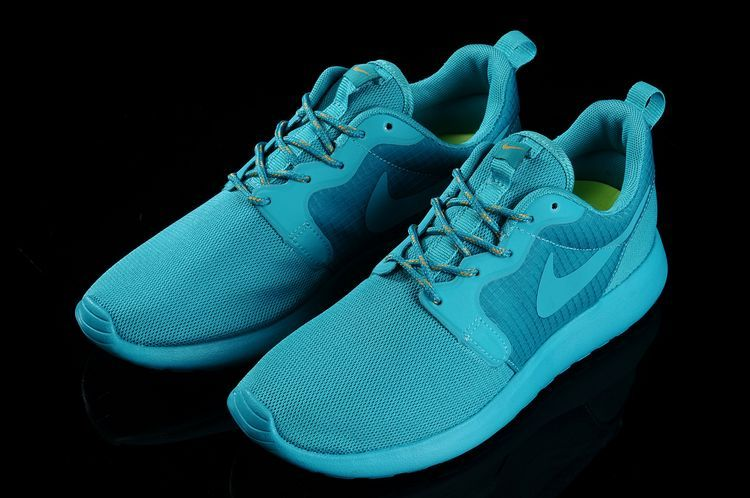 Nike Roshe Run Hyperfuse 3M All Baby Blue Running Shoes