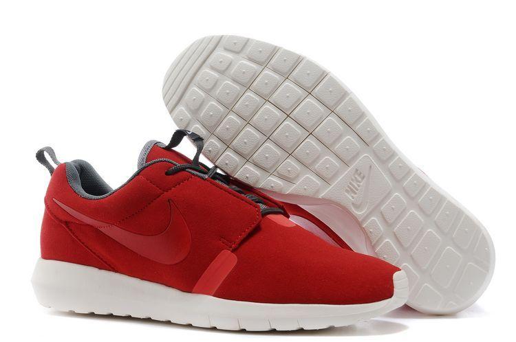 Nike Roshe Run NM 3M Midnight Red White Shoes