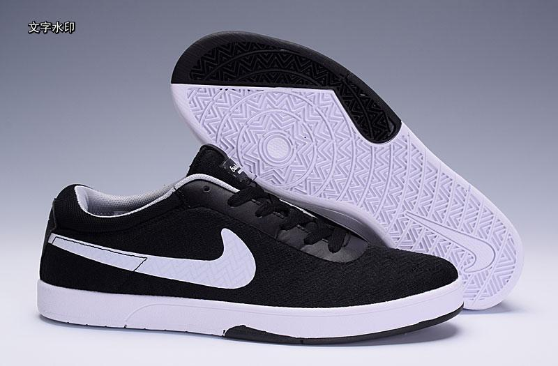 Nike SB Eric Koston Black White Shoes
