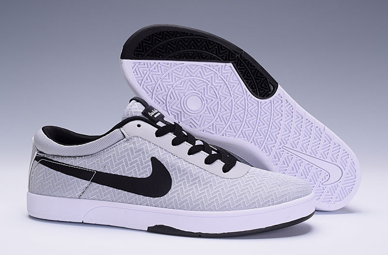 Nike SB Eric Koston White Black Shoes