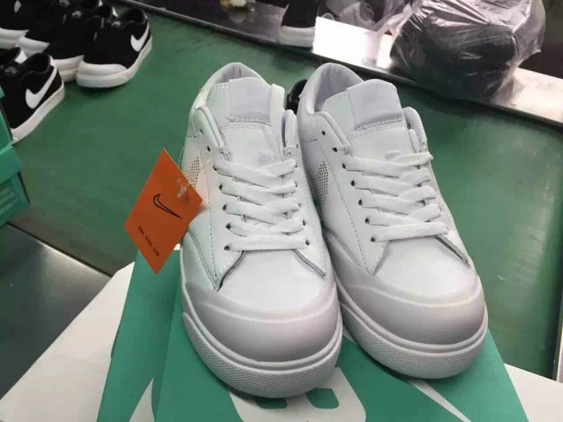 Nike SB Zoom All Court CK All White Shoes
