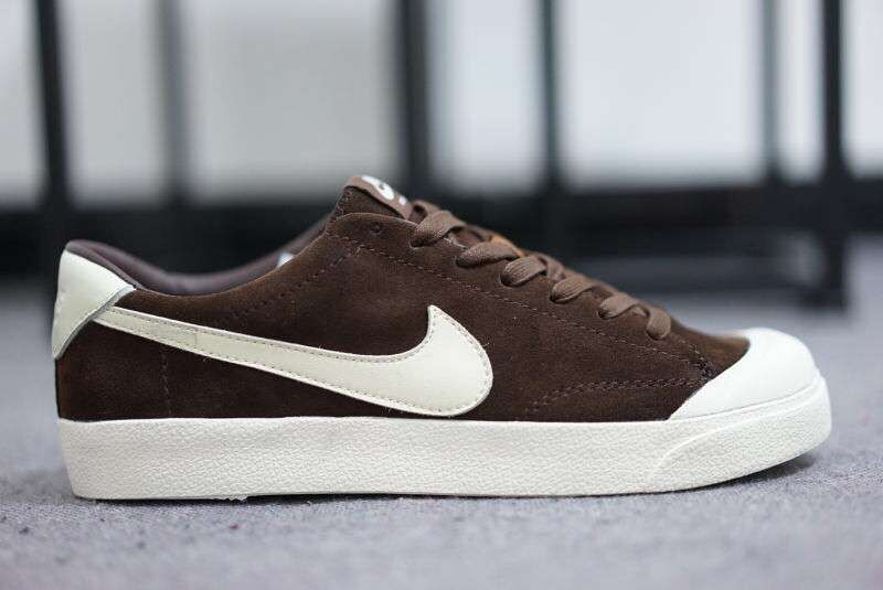 Nike SB Zoom All Court CK Brown White Shoes