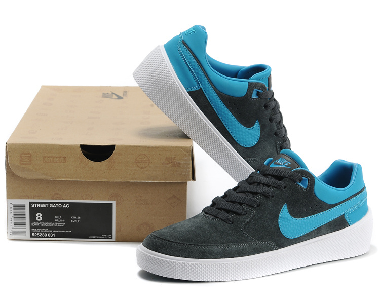 Nike ST Gatoreet AC Black Blue Shoes