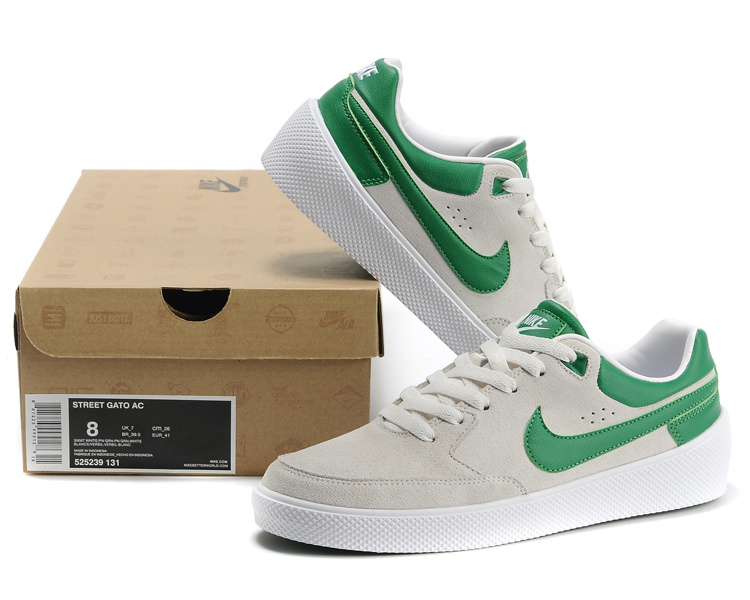Nike ST Gatoreet AC White Green Shoes