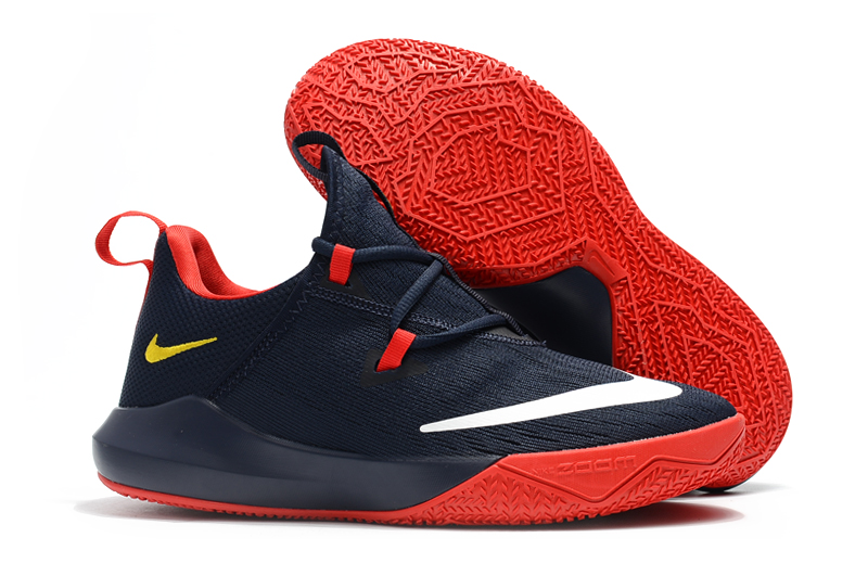Nike Shift 2 Dark Blue Red Basktball Shoes