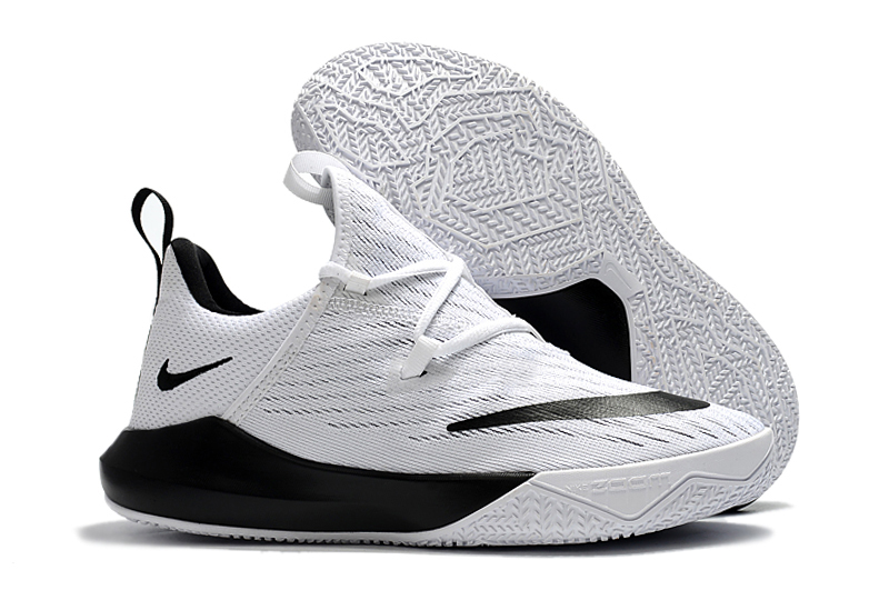 Nike Shift 2 White Black Basktball Shoes