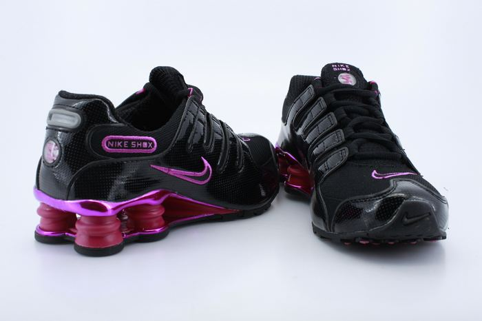 Nike Shox NZ Black Red For Women