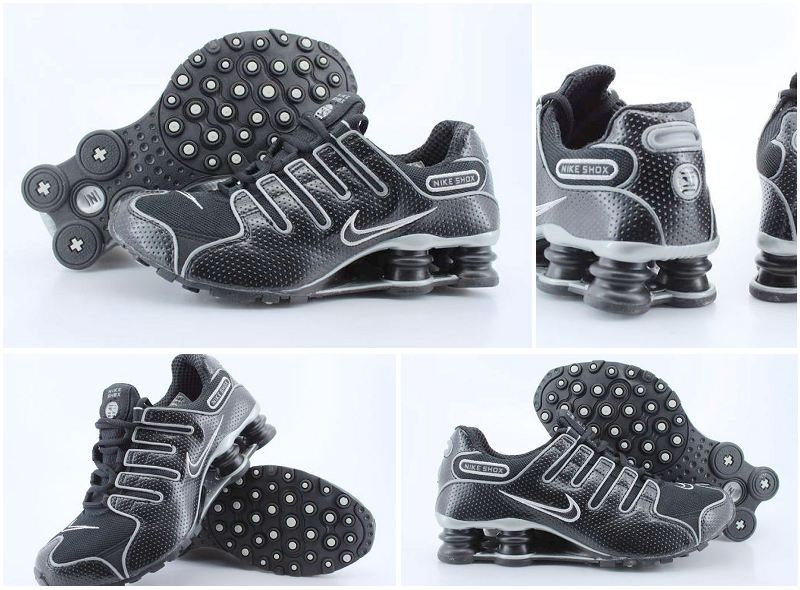 Women Nike Shox NZ Shoes All Black