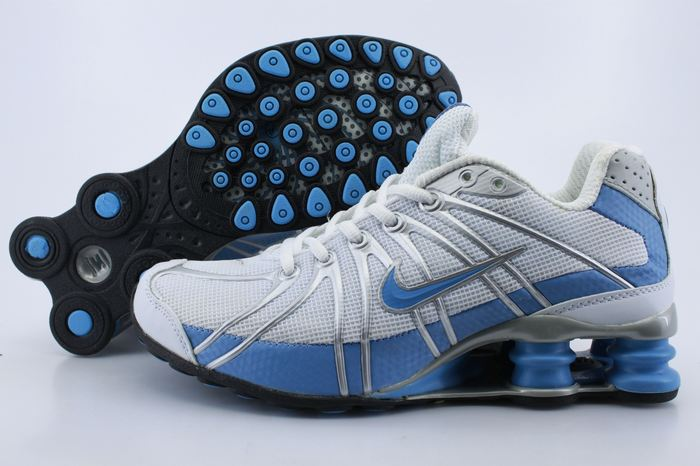 10bd9d5779f3 New Products For March - Nike Shox Women. Women Nike Shox OZ Shoes White Light  Blue