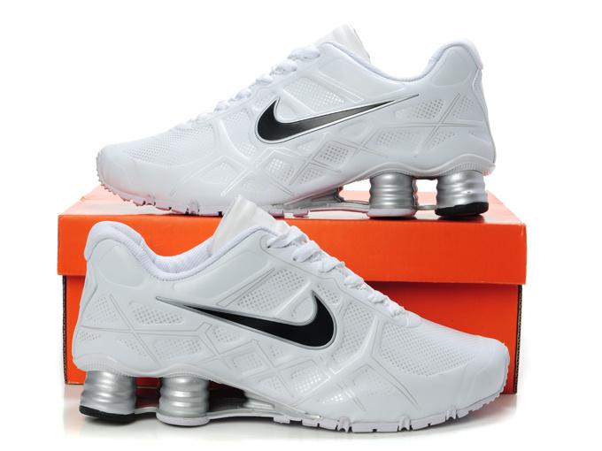 Nike Shox Turbo 12 Shoes White Black For Women  Nike3841  -  68.00 ... 181c603da