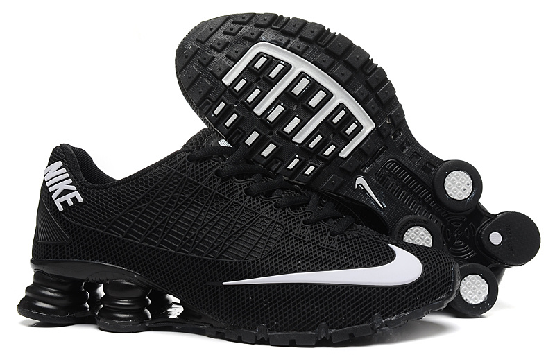 Nike Shox Turbo 21 Shoes Black White