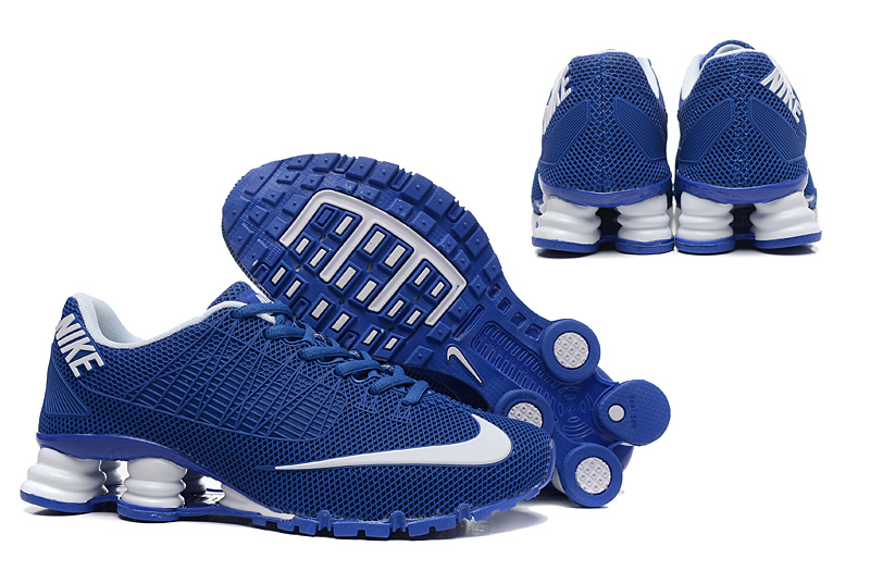 Nike Shox Turbo 21 Shoes Blue White