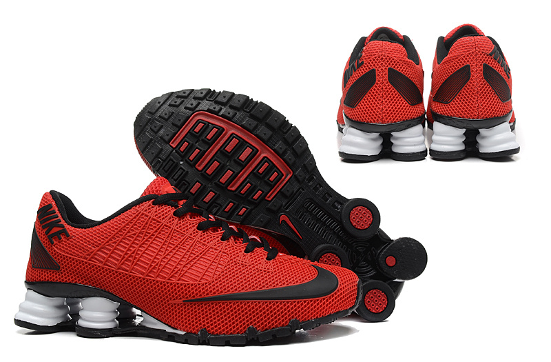 Nike Shox Turbo 21 Shoes Red Black