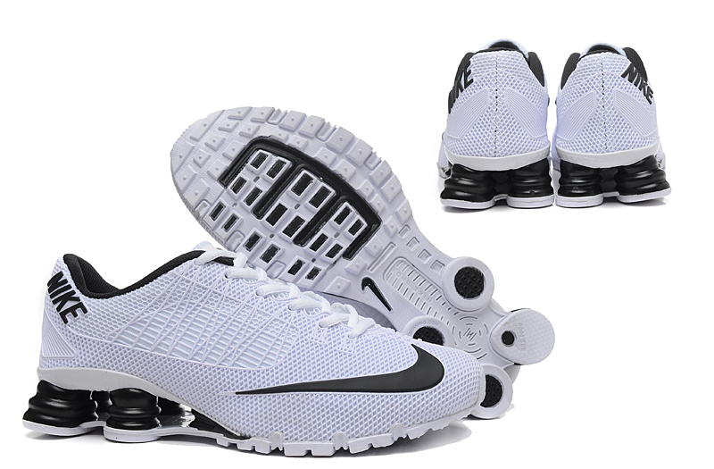 Nike Shox Turbo 21 Shoes White Black