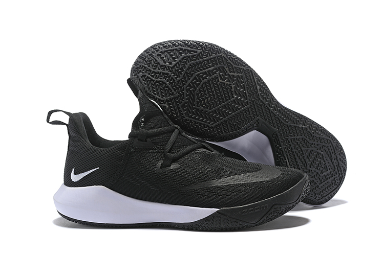 Nike Team 2 Black White Basketball Shoes