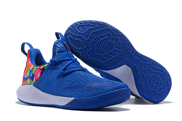 Nike Team 2 Rainbow Blue Basketball Shoes
