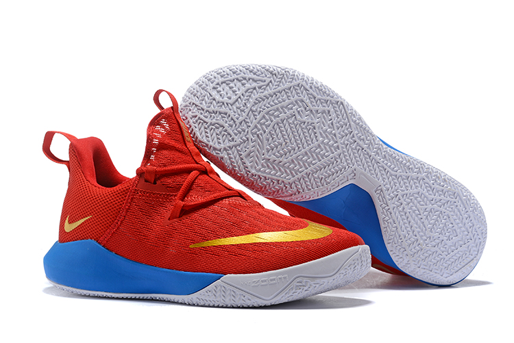 Nike Team 2 Red Gloden Basketball Shoes