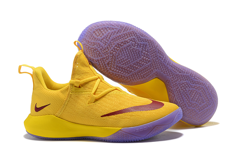 Nike Team 2 Yellow Basketball Shoes