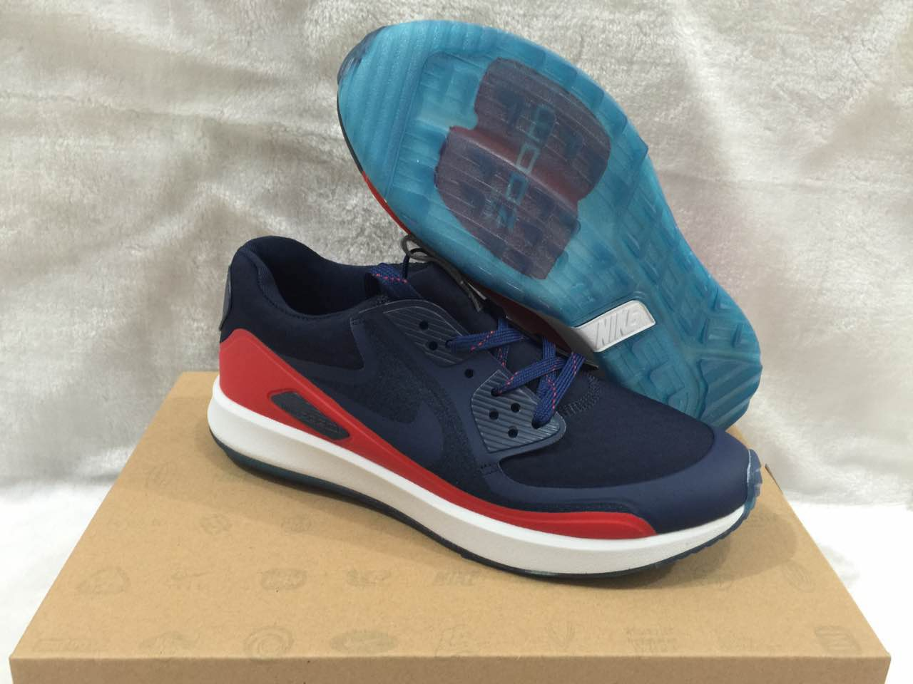 Nike Zoom 90 IT Blue Red White Shoes