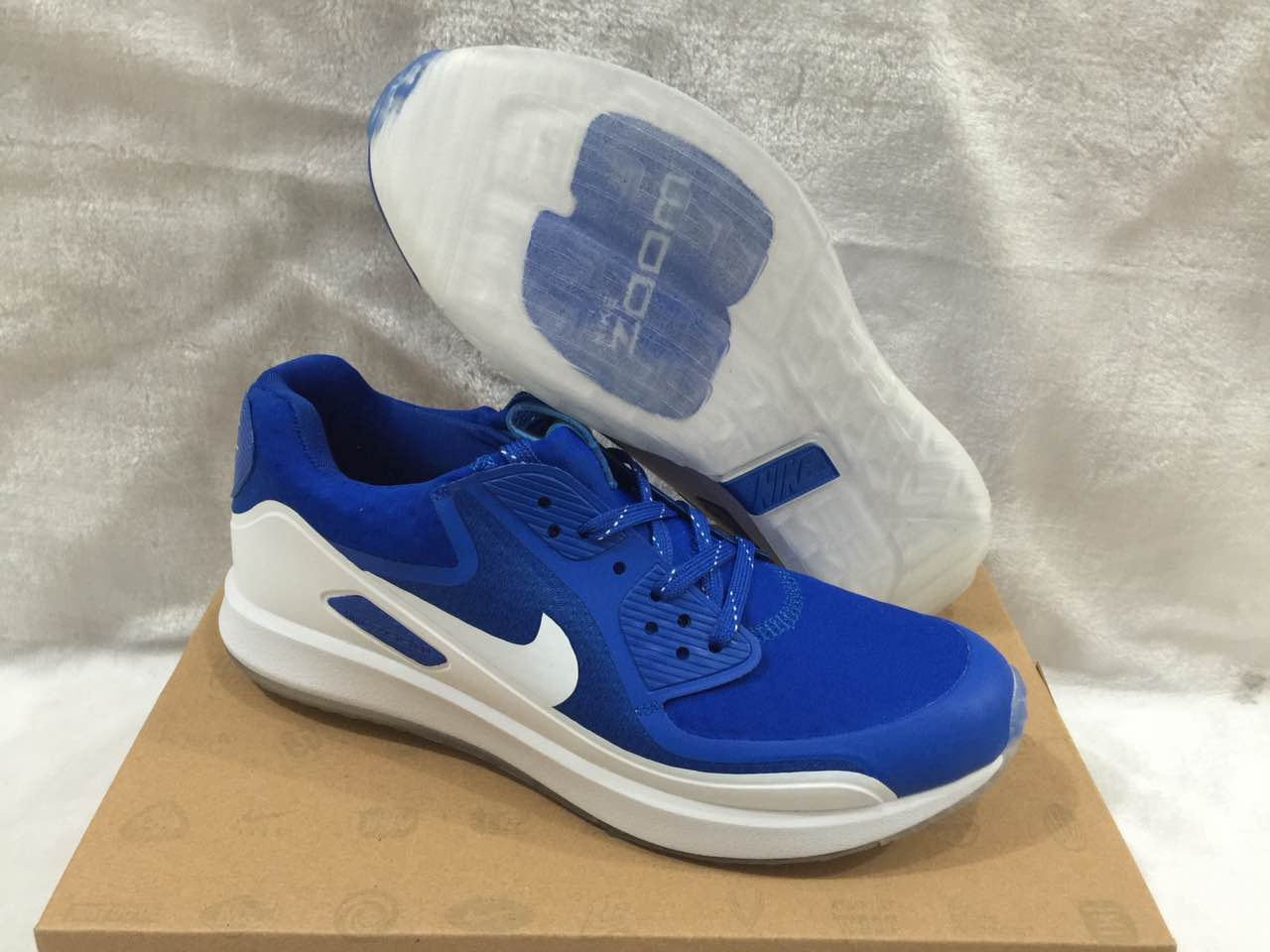 Nike Zoom 90 IT Blue White Shoes