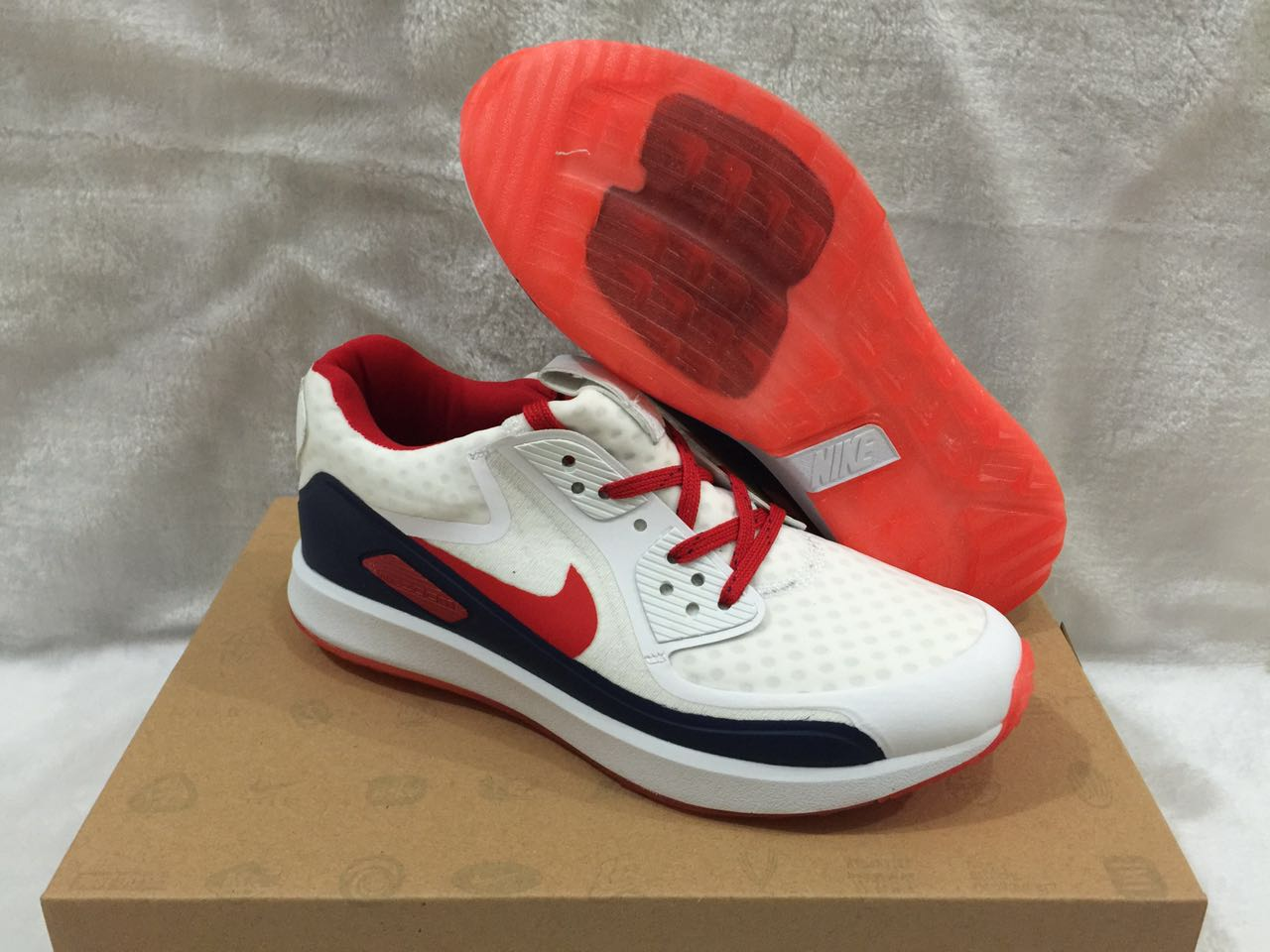 Nike Zoom 90 IT White Red Black Shoes