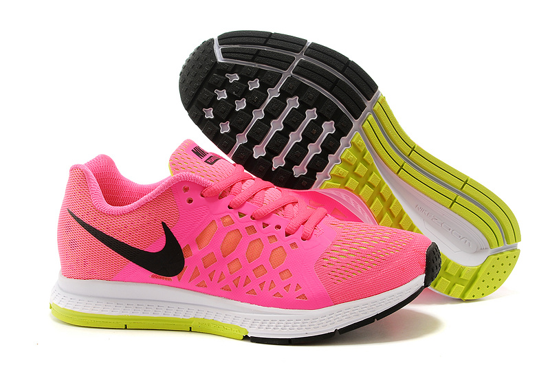 b77b16d6a55b Nike Zoom Pegasus 31 Pink Black White Sport Shoes For Women