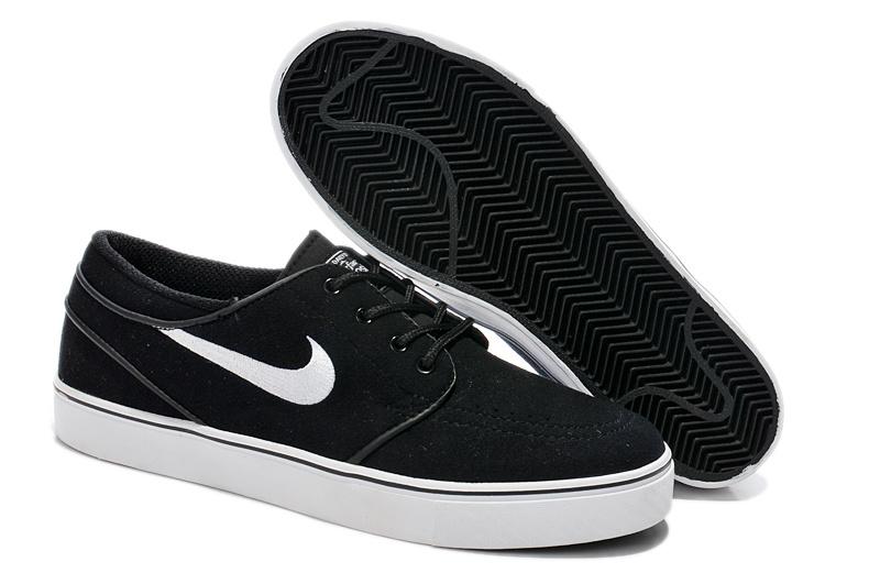 premium selection cf5c6 b5929 Nike Zoom Stefan Low Black White Shoes