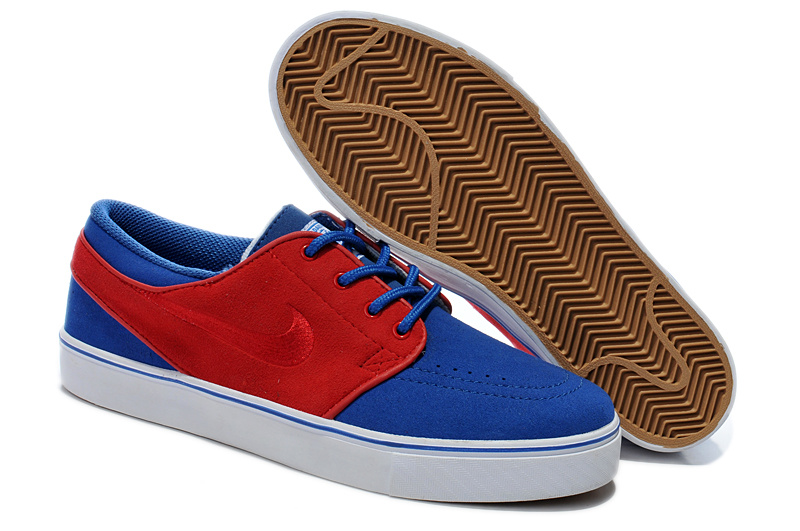 Nike Zoom Stefan Low Sea Blue Red Shoes