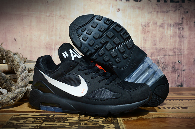Off-white Nike Air Max 180 Black White Shoes