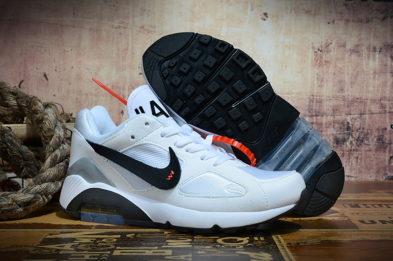 Off-white Nike Air Max 180 White Black Shoes