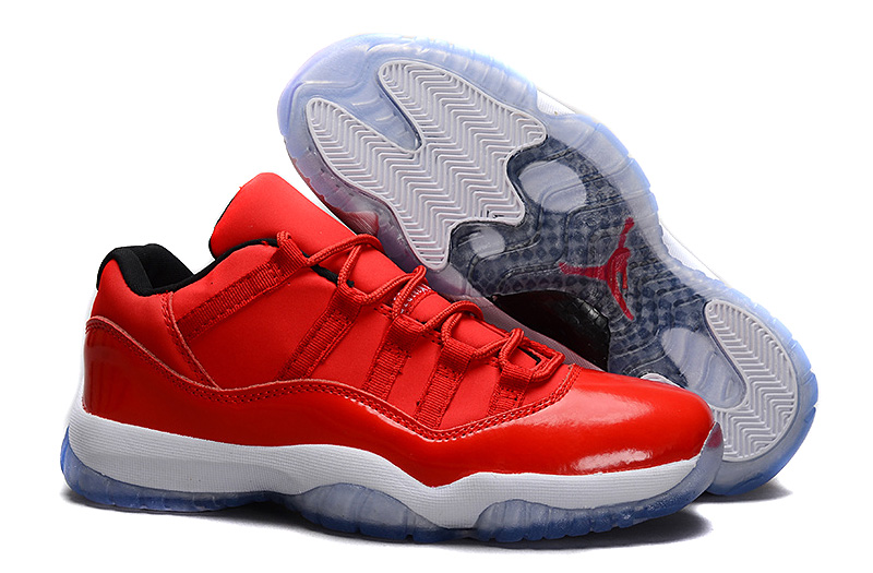 Sale Air Jordan 11 Retro Low Red PE Carmelo Anthony Red White Online For  Cheap