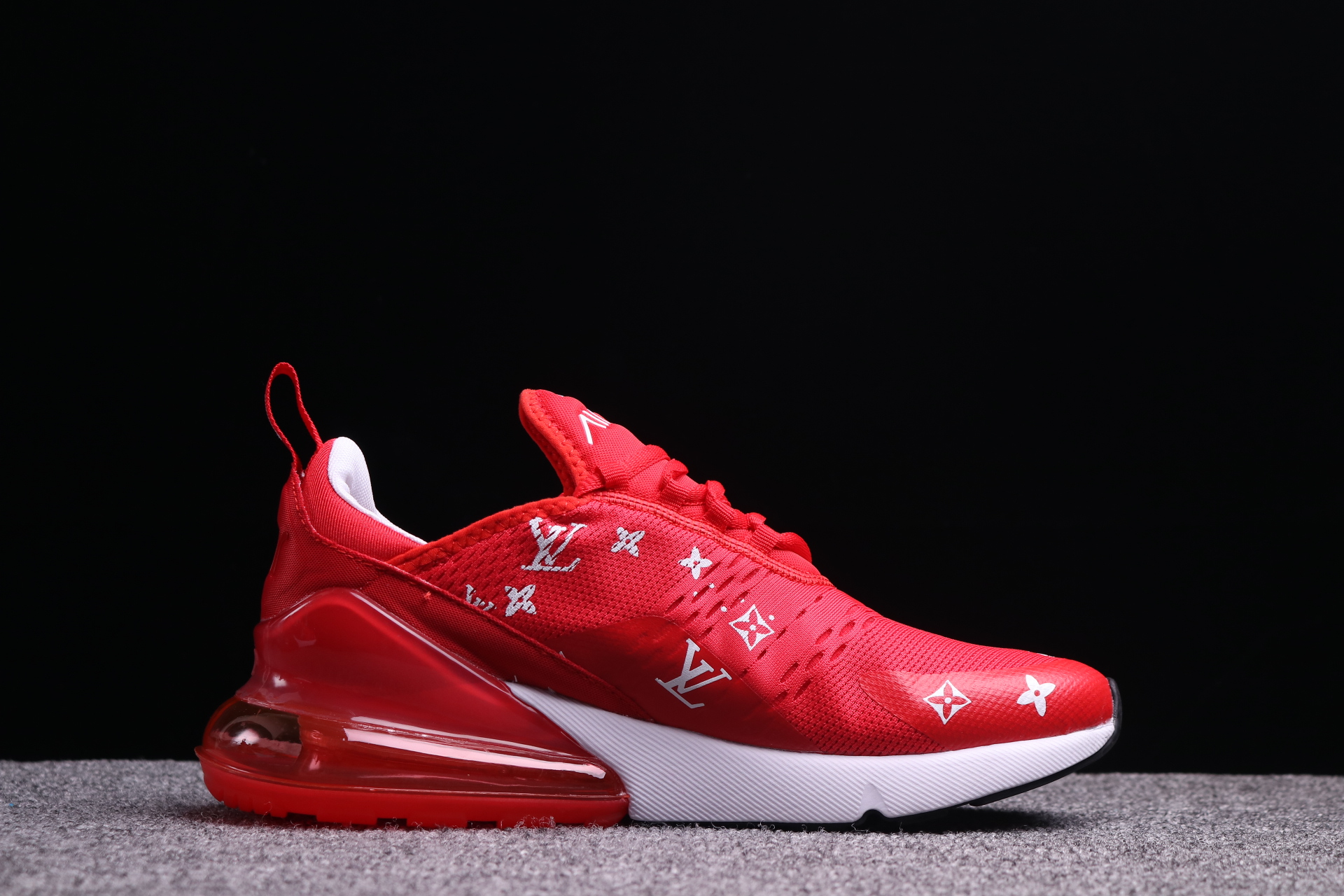Supreme x Nike Air Max 270 Red LV White Shoes