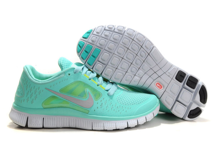 Sky Blue Nikes Free Run 3 5.0 Limited