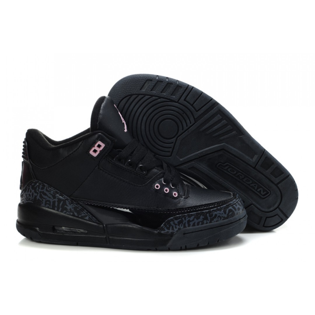 jordan shoes for women black