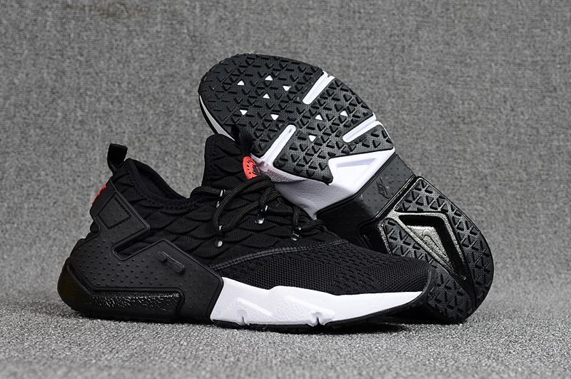 Women Nike Air Huarache 6 Flyknit Black Shoes