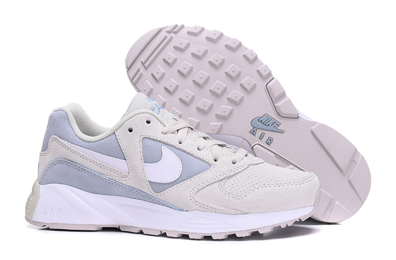 Women Nike Air Icarus Extra QS White Baby Blue Shoes