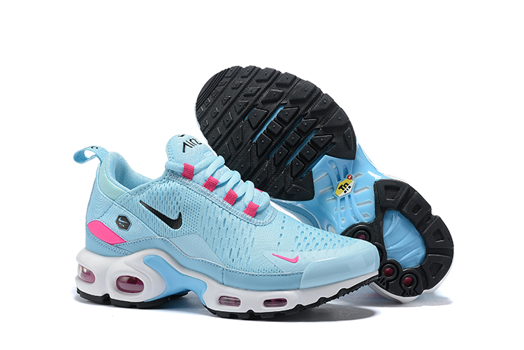 Women Nike Air Max TN 270 Baby Blue Pink Shoes