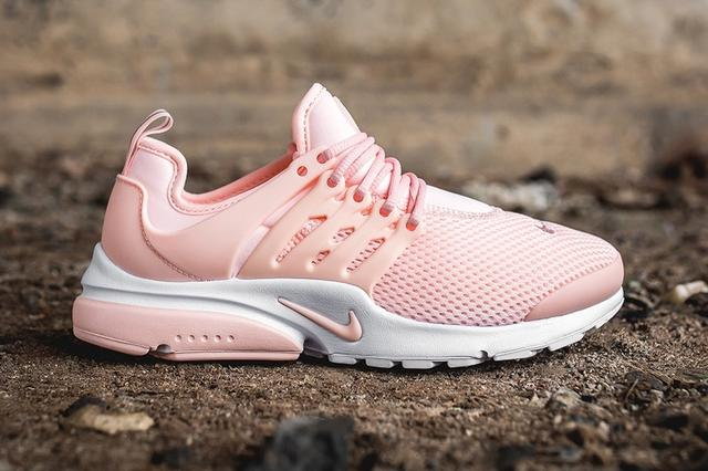 Women Nike Air Presto 2017 Summer Pink White Shoes