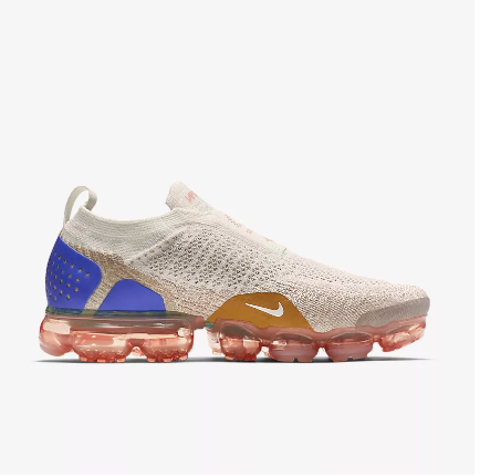 Women Nike Air VaporMax FK Moc Light Purple Brown Blue Shoes